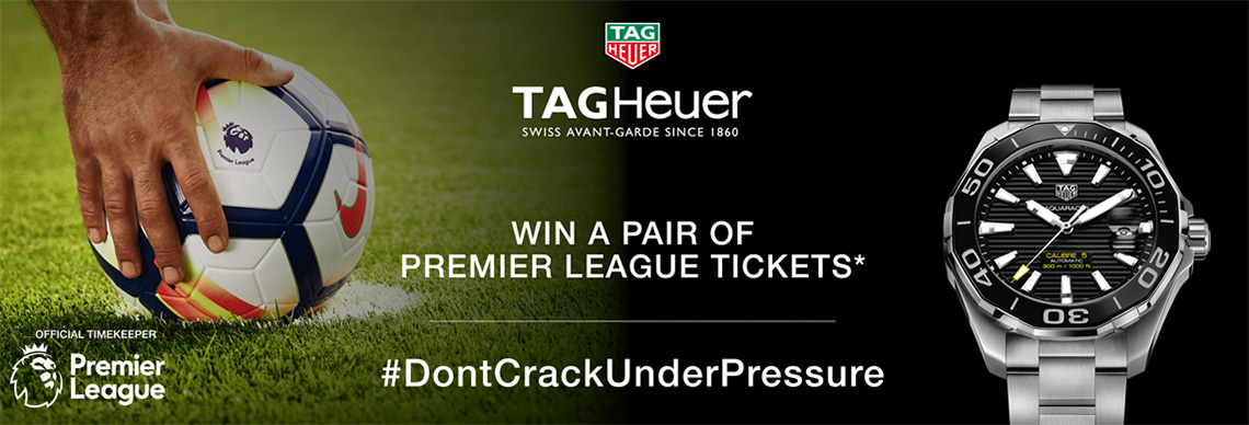 Tag Heuer promotion