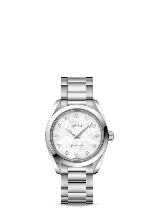 Omega Aqua Terra 28mm Stainless Steel Ladies Watch