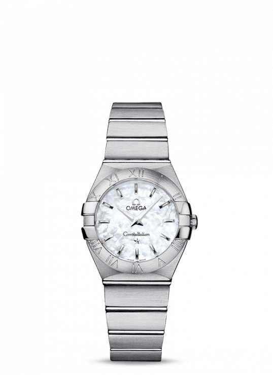 Omega Constellation 27mm Stainless Steel Ladies Watch