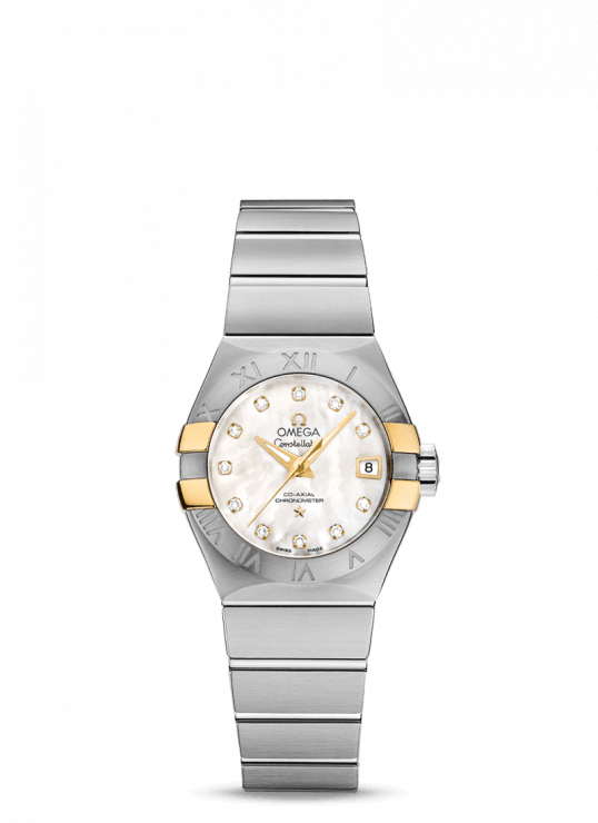 Constellation 27mm White Mother Of Pearl Diamond Dial