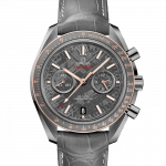 Omega Speedmaster 44.25mm Grey Ceramic Gents Watch