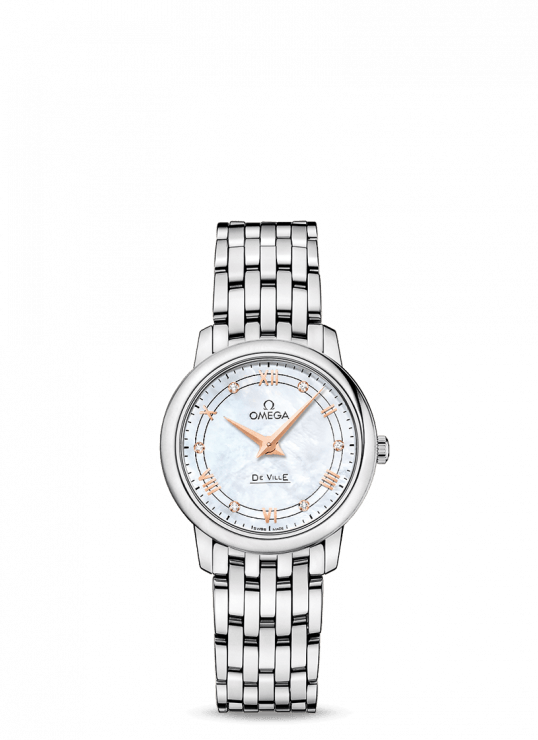 Omega De-Ville 36.8mm Stainless Steel Ladies Watch