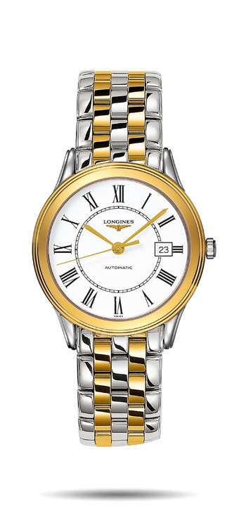 Longines Flagship  bi-colour steel Gents Watch