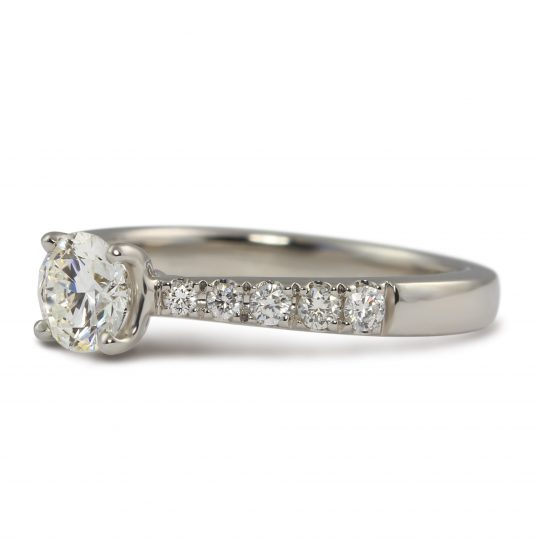 Platinum Skye Classic 0.45ct Diamond Ring