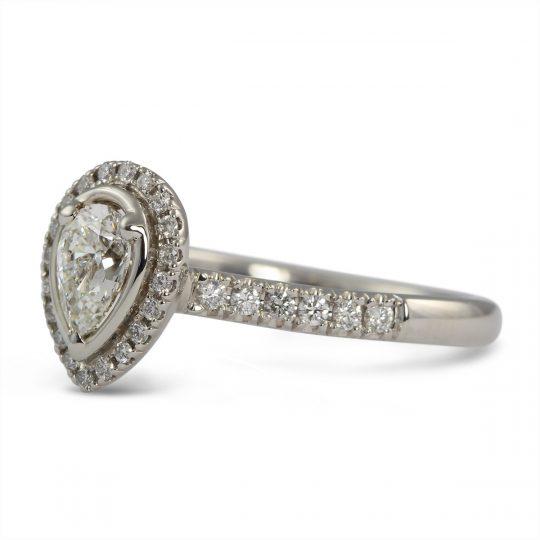 Platinum Skye 0.28ct Diamond Ring