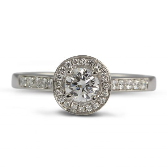 Platinum Dulcina 0.50ct Diamond Ring