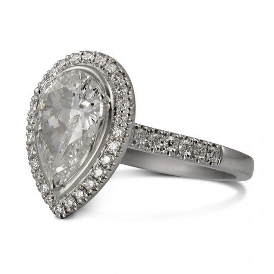Platinum Skye 1.66ct Diamond Ring