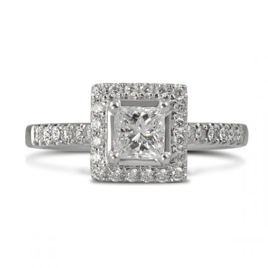 Platinum Skye 0.75ct Diamond Ring