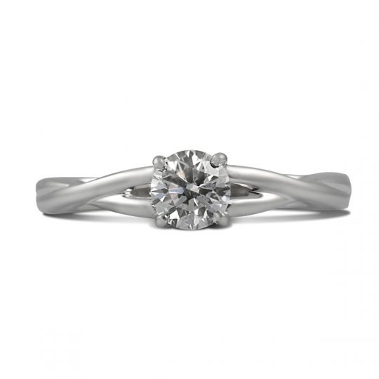 "Platinum ""Arranmore"" Diamond Ring"