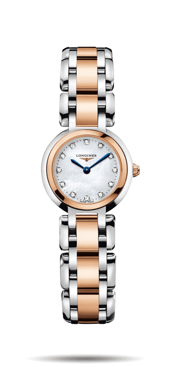 Longines Prima Luna steel and rose gold Ladies Watch