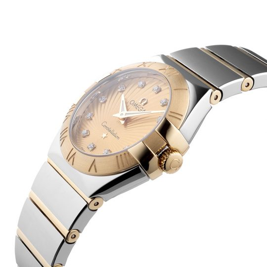 Omega Constellation 27mm Steel & 18ct Yellow Gold Ladies Watch