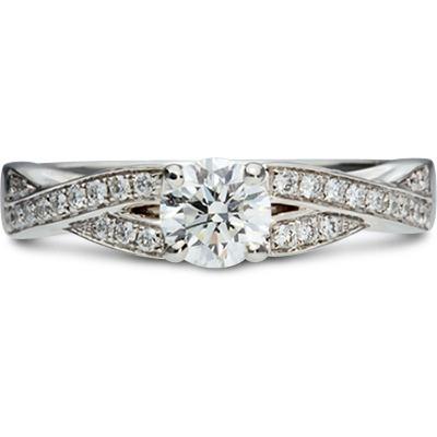 Platinum Carrera 0.52ct Diamond Ring