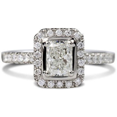 Platinum Skye 1.66ct Diamond Engagement Ring