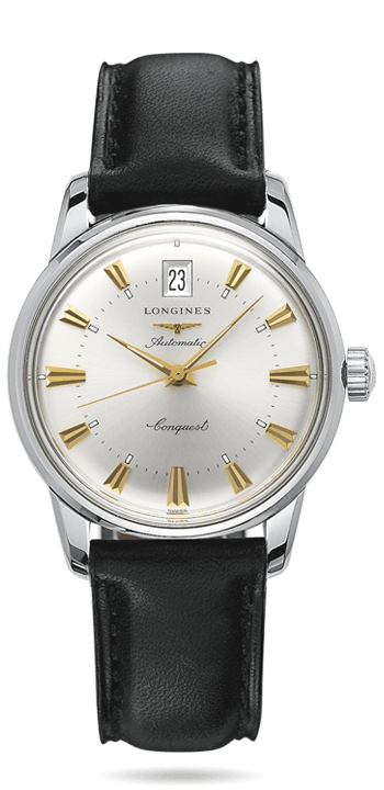 Longines Heritage Conquest Stainless Steel Gents Watch