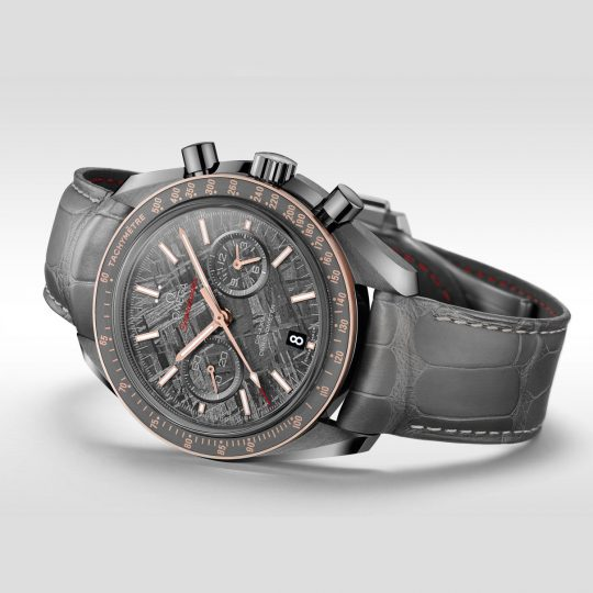 Omega Speedmaster 44.25mm Grey Ceramic Gents Watch