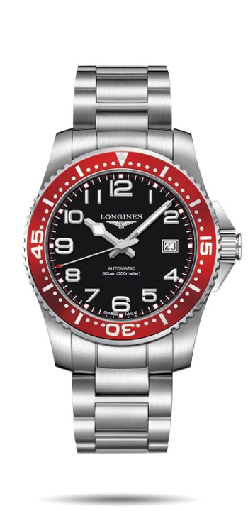 Longines Hydro Conquest Stainless Steel Gents Watch