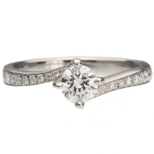 Platinum Dursey 0.31ct Diamond Ring