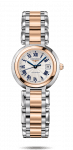 Longines Prima Luna Stainless Steel + Rose Gold Ladies Watch