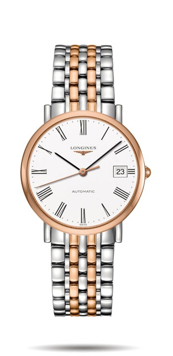 Longines Elegance 37mm Stainless Steel Ladies Watch