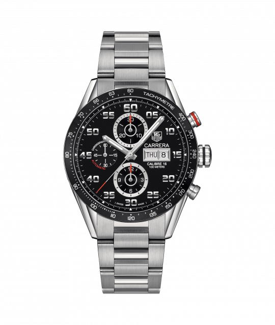 Tag Heuer Carrera 41mm Steel Gents Watch