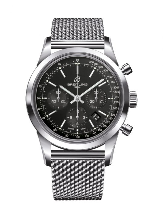 Breitling TransOcean 46mm Steel Gents Watch