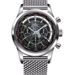 Breitling TransOcean 46mm Steel Gents Watch