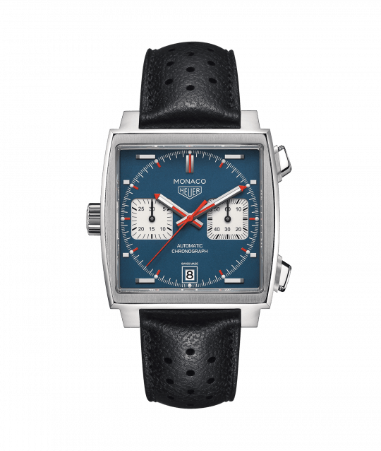 Tag Heuer Monaco 39mm Steel Gents Watch