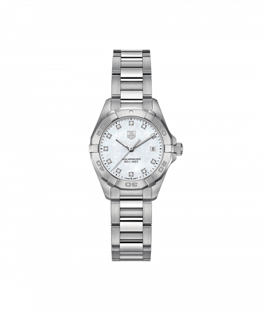 Tag Heuer AquaRacer 32mm Steel Alternate Finished Ladies Watch