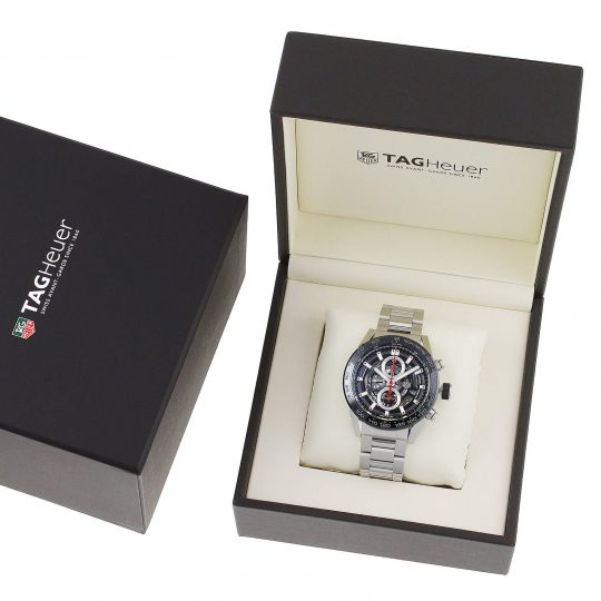Tag Heuer Carrera Calibre heuer01 45mm Steel Gents Watch