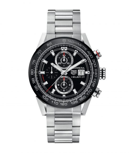 Tag Heuer Carrera 43mm Steel Gents Watch