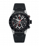 Tag Heuer Carrera 45mm Stainless Steel Gents Watch