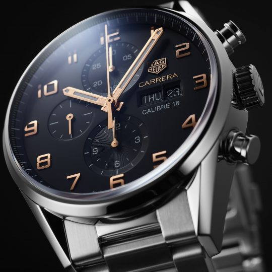 Tag Heuer Carrera 43mm Alternate Steel Finished Gents Watch