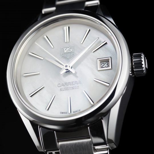 Tag Heuer Carrera 28mm Steel Ladies Watch