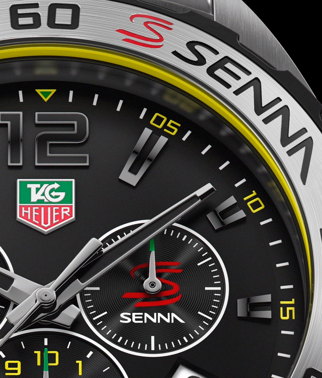 tag heuer formula 1 chronograph senna edition whittles. Black Bedroom Furniture Sets. Home Design Ideas