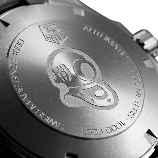 TAG Heuer Aqua Racer 40.5mm Steel Gents Watch