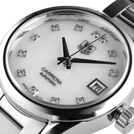 Tag Heuer Carrera 28mm Steel Ladies Watch