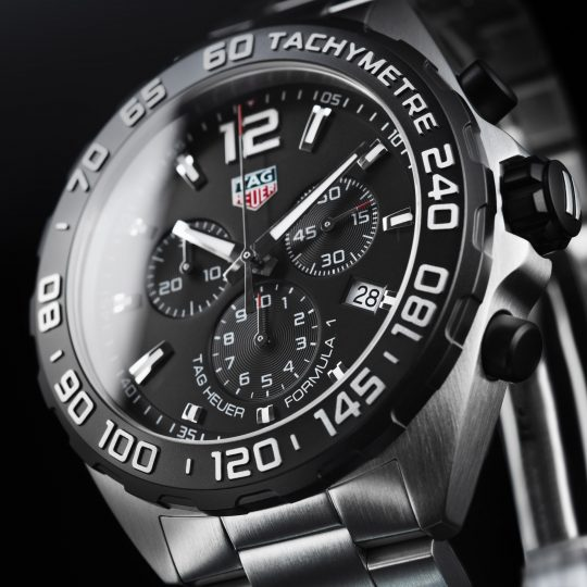 Tag Heuer 43mm Formula 1 Stainless Steel Gents Watch