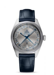 Omega Globe Master 41mm Stainless Steel Gents Watch
