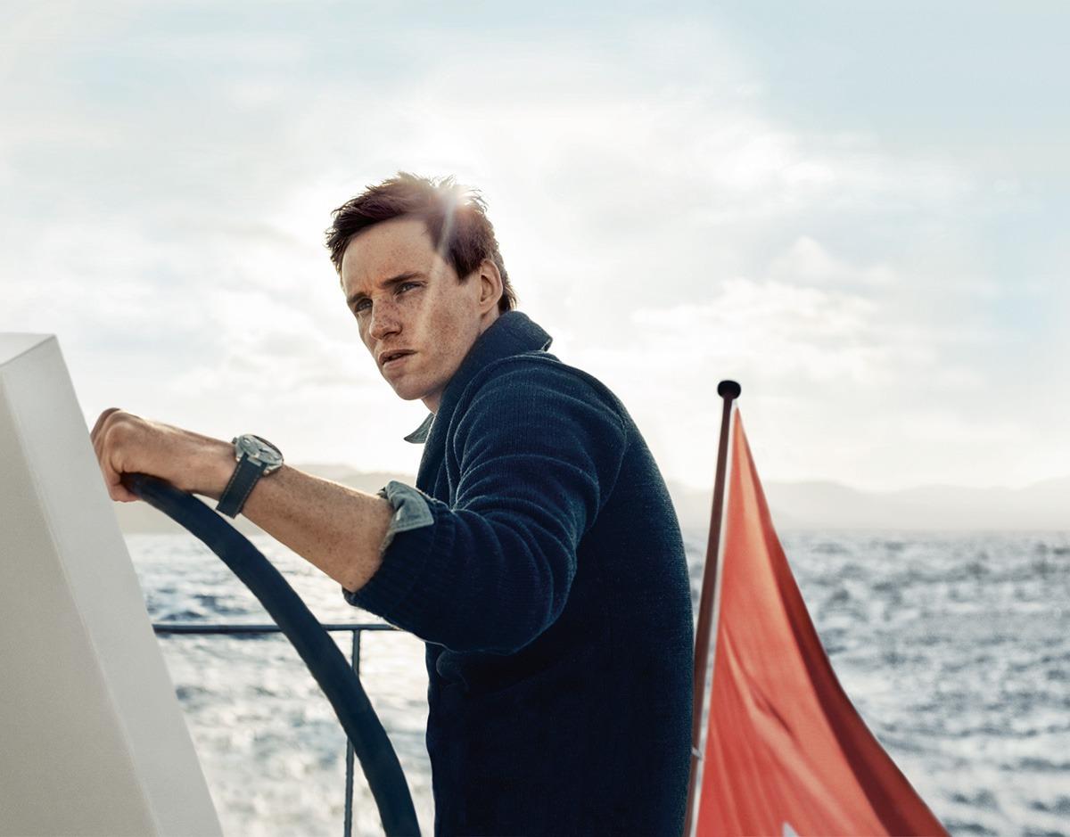 Eddie Redmayne and the new Seamaster Aqua Terra