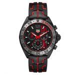 TAG HEUER FORMULA 1 43MM SENNA STEEL AND RUBBER GENTS WATCH