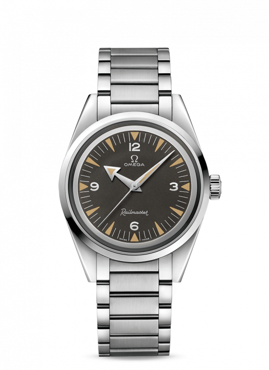 Omega Railmaster 40 mm Steel Gents Watch