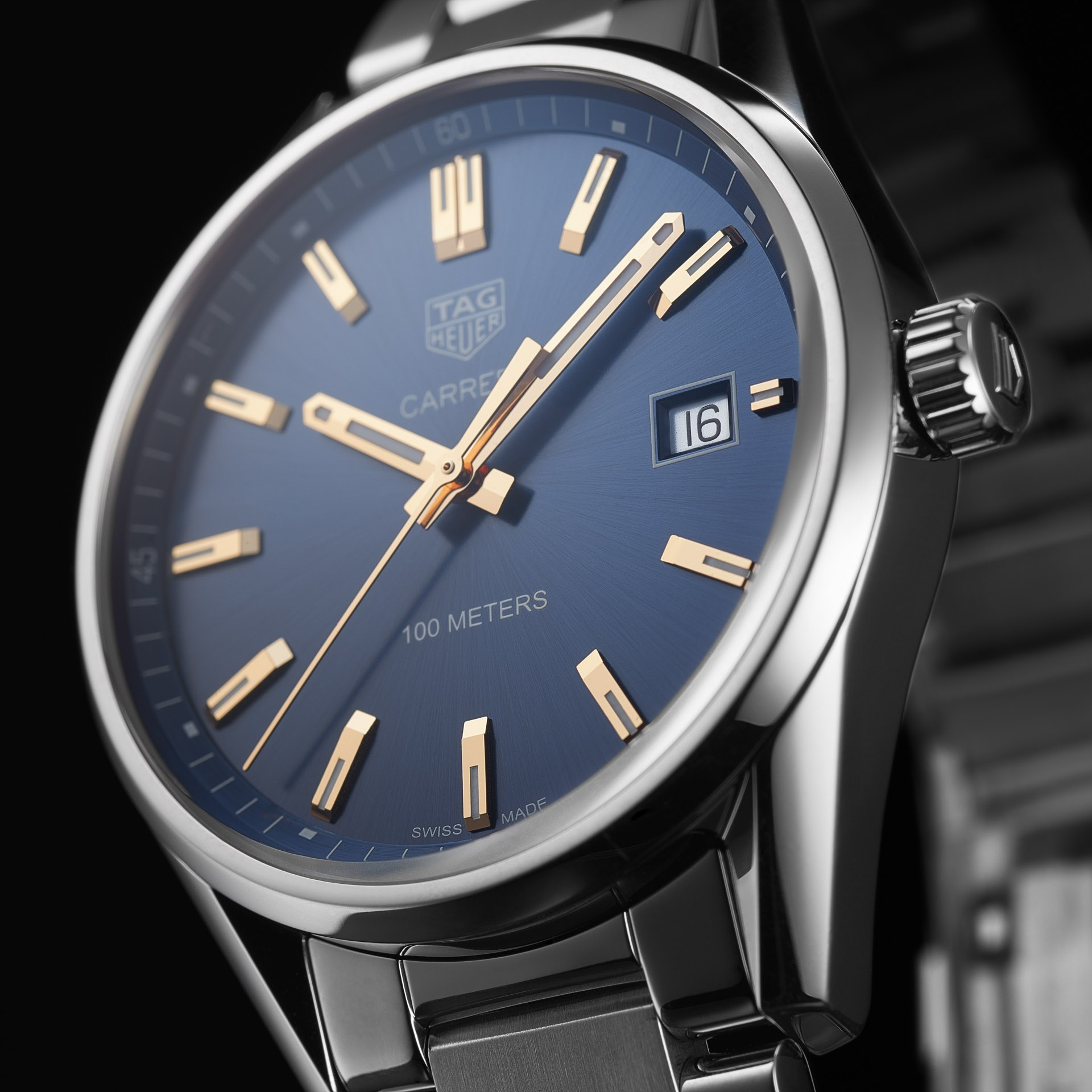 6ecfe038551 Tag Heuer Carrera 39mm Stainless Steel Watch - Whittles Jewellers ...