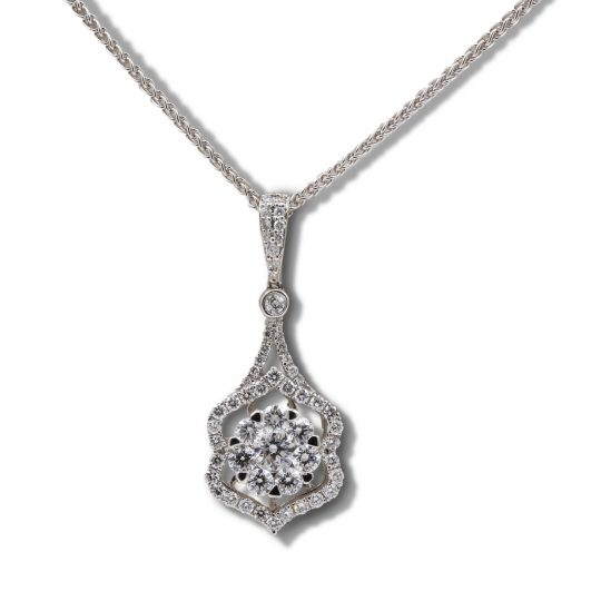 18ct White Gold Necklace