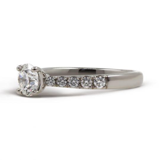 Platinum  Classic Skye Diamond Ring