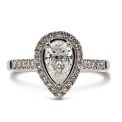 Platinum Skye Diamond Ring