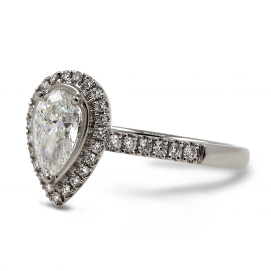 Platinum Skye Diamomd Ring