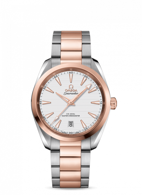 Omega Aqua Terra 38 mm Steel – Sedna™ Gold Watch