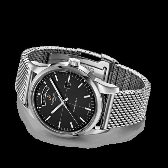 Breitling Transocean 43mm Steel Gents Watch