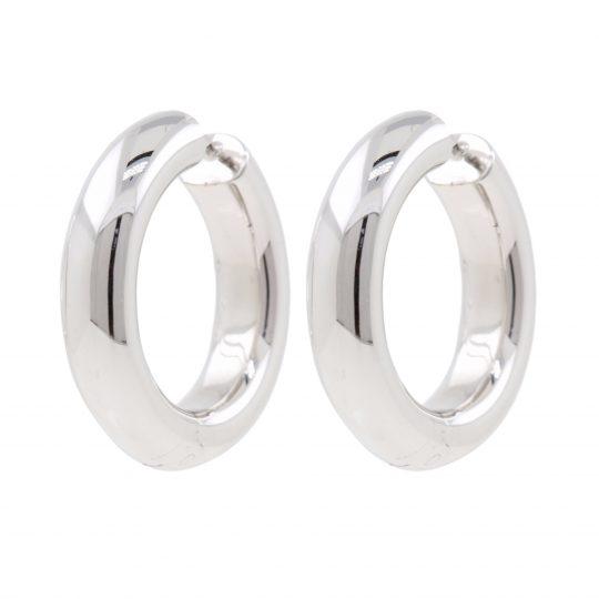 Viventy Silver hoop earrings