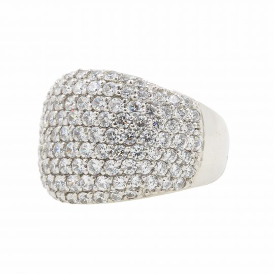 Viventy Pave CZ Large Ring